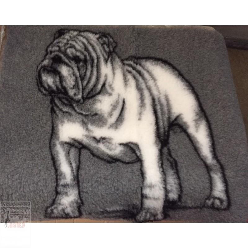 Vet Bed, Bulldog, 75 x100cm