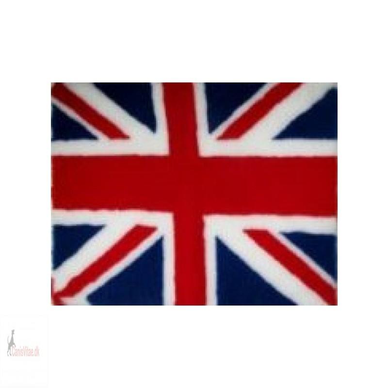 Vet Bed, engelsk flag, 75 x100cm