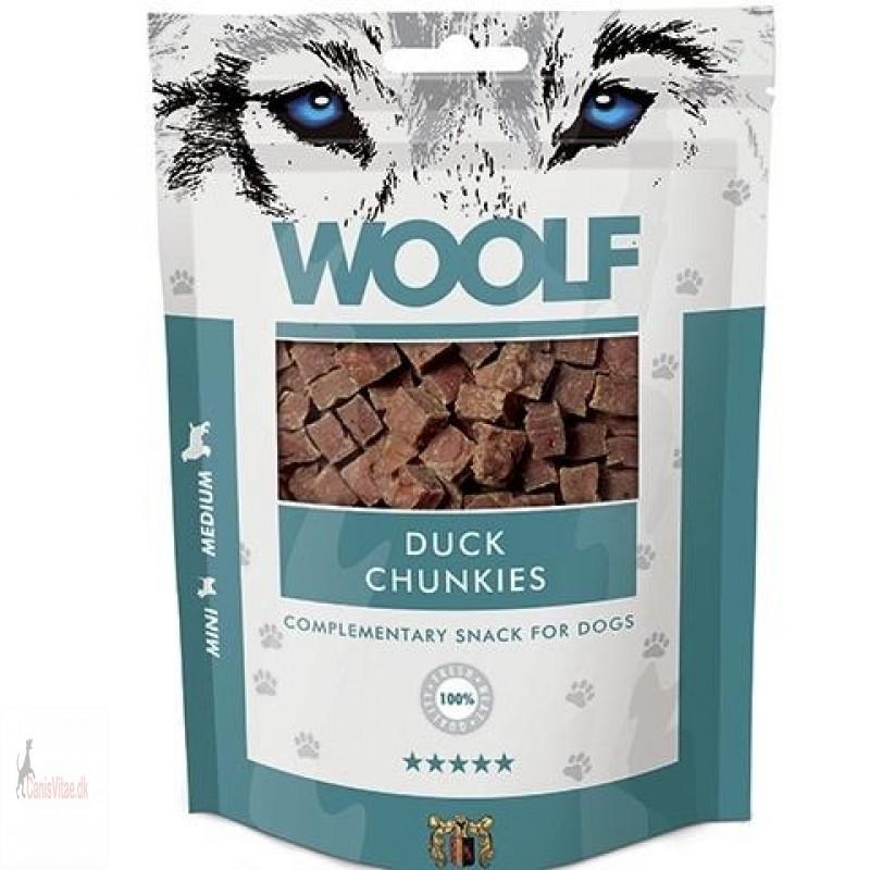 Woolf Duck Chunkies, 100 GRAM