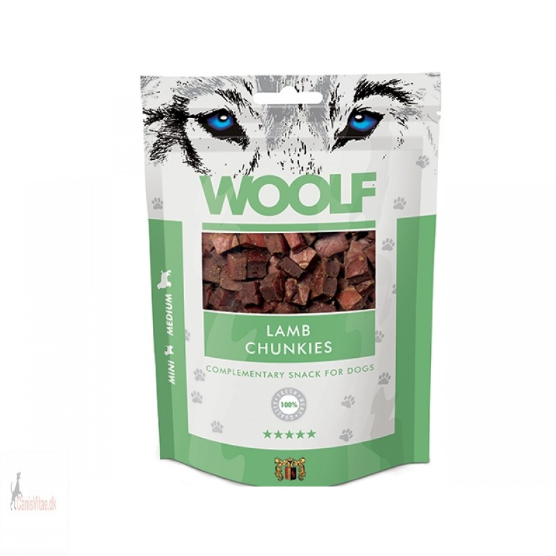 Woolf - LAMB CHUNKIES, 100 GRAM