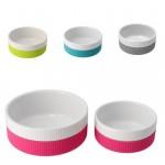 Keramik skål med silikone 300 mi, vælg farve-20