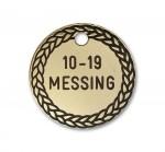 Hundetegn Messing-27mm 10-19-20