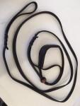 KLIN udstillingsline med halsbånd, flettet, brun 1 x 250 cm-20