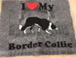 Vet Bed, border collie, 75 x100cm-20