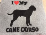 Vet Bed, Cane Corso, 150x100cm-20