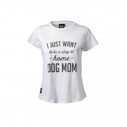 DogCoach Statement t-shirt, hvid Vælg størrelse-20