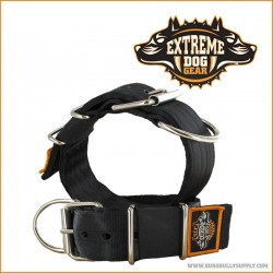Extreme Dog Gear Halsbånd, 5 cm bredt Sort-20