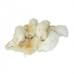 Kaninpoter med pels,-20