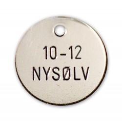 Hundetegn Nysølv-33mm 10-12-20
