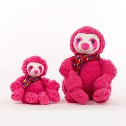 HuggleHounds Wild Things Sloth Knotties vælg str fra-20