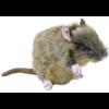 Naturens Dyr, Rotte stor , 20 cm-01