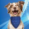 Aqua Coolkeeper Pet bandana. blå - fra