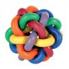 Snoet gummibold, flerfarvet, 10 cm